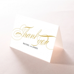 A Polished Affair wedding stationery thank you card item