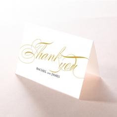 A Polished Affair wedding stationery thank you card item