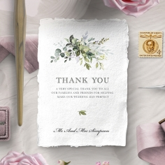 Beautiful Devotion thank you card design