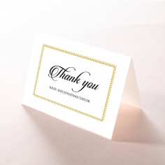 Blooming Charm thank you card