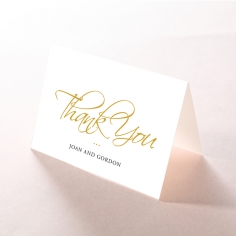 Diamond Drapery wedding thank you stationery card item