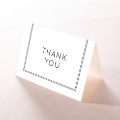 Luxe Paper Elegance thank you wedding stationery card item