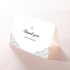 Modern Vintage thank you stationery card design