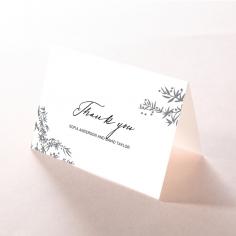 Oriental Romance thank you stationery card item