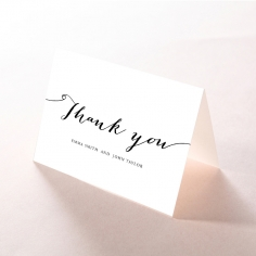 Paper Infinity thank you card design