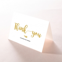 Rustic Lustre thank you stationery card item