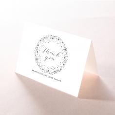 Star Dust thank you invitation card