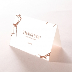 Stonework thank you card design
