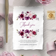 Their Fairy Tale thank you card