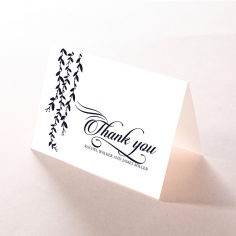 Unbroken Romance thank you wedding card