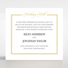 Blooming Charm wedding stationery wishing well invitation card design