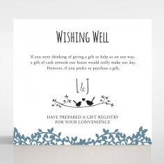 Forest Love wedding wishing well invite