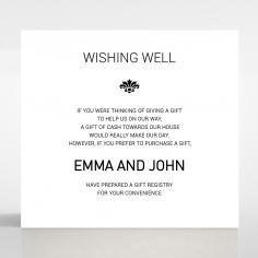 Paper Gilded Decadence wedding stationery gift registry invite card design