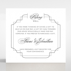Paper Regal Enchantment wedding stationery gift registry invitation card