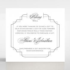 Paper Regal Enchantment wedding stationery gift registry invitation card