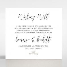 Paper Timeless Simplicity wedding stationery gift registry invitation