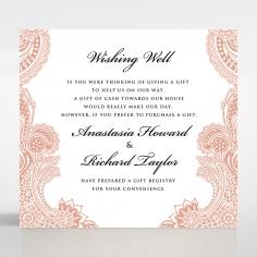 Regal Charm Letterpress gift registry invite card design