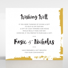 Rusted Charm wedding stationery gift registry invite card design
