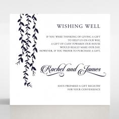 Unbroken Romance wishing well stationery card