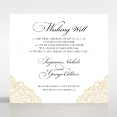 Vintage Prestige wedding stationery wishing well card design