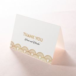 Contemporary Glamour thank you card DY116059-KI-MG