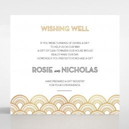 Contemporary Glamour wishing well card DW116059-KI-MG