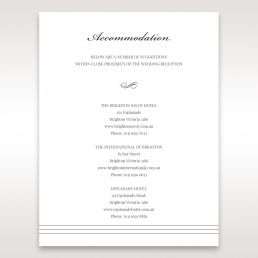 Wedding Accommodation Cards And Sets Australia