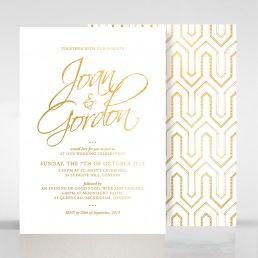 Diamond Drapery wedding invitations FWI116106-GW-GG