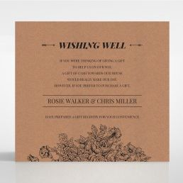 Hand Delivery wishing well card DW116063-NC