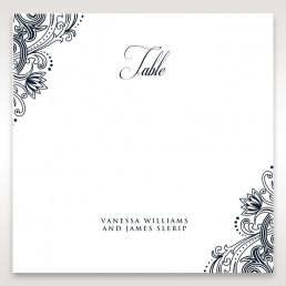 Imperial Glamour without Foil table number card DT116022-NV-D