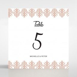 Luxe Rhapsody table number card DT116066-PK