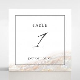 Moonstone table number card DT116106-DG
