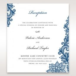 Wedding Reception Cards Matching Styles