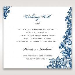 Noble Elegance wishing well card DW11014