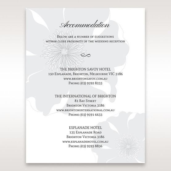 White True Love - Accommodation - Wedding Stationery - 21