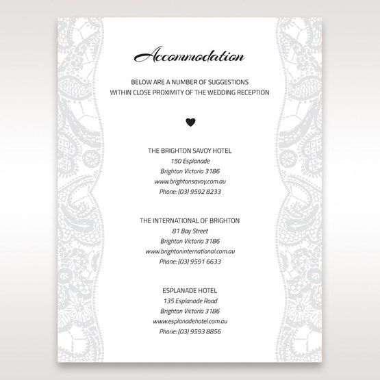 White White Dress - Accommodation - Wedding Stationery - 49