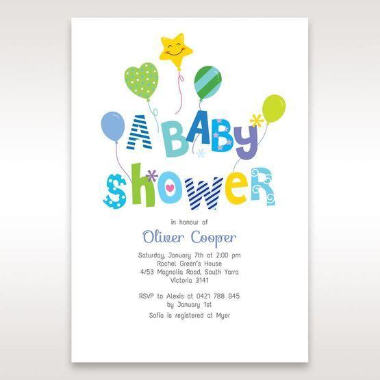 White Ballooon Baby I - Baby Shower - 13