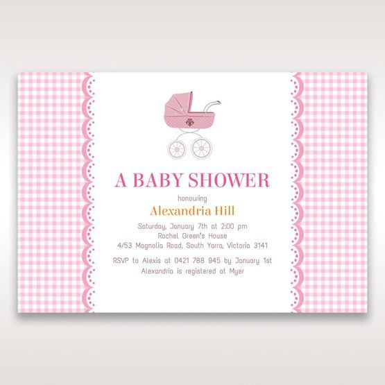 Pink Baby Mobile II - Baby Shower - 45
