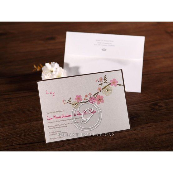 Pink Warm a Mellow Spring - Bridal Shower Invitations - 72