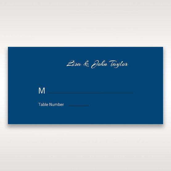 Blue Flower Sash I Laser Cut  - Place Cards - Wedding Stationery - 82
