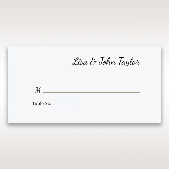 White Laser Gated Elegance Laser Cut Pocket - Place Cards - Wedding Stationery - 73