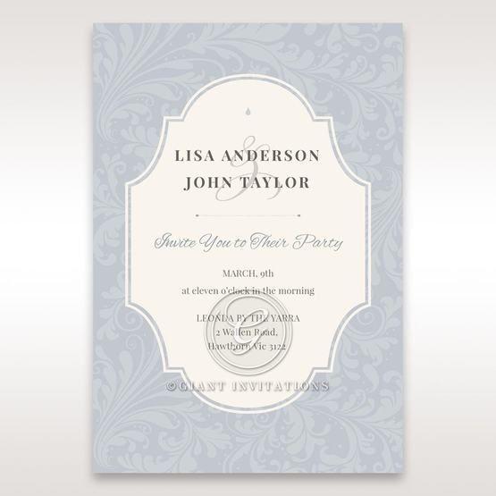 Blue Venetian Affair - Engagement Invitations - 76