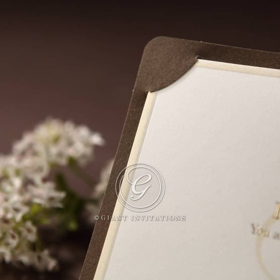 Brown Luxury Invitation - Wedding invitation - 15