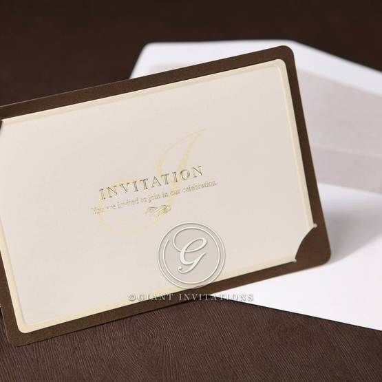 Brown Luxury Invitation - Wedding invitation - 17