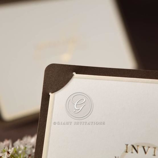 Brown Luxury Invitation - Wedding invitation - 19