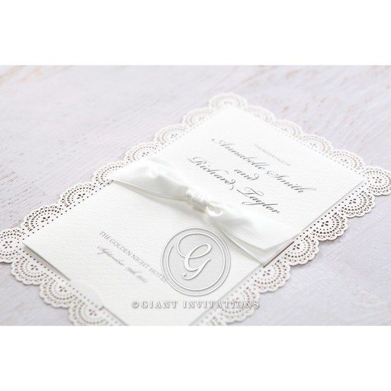 White Amabilis - Wedding invitation - 5