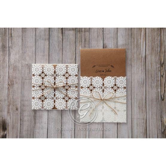 Brown Rustic - Wedding invitation - 42