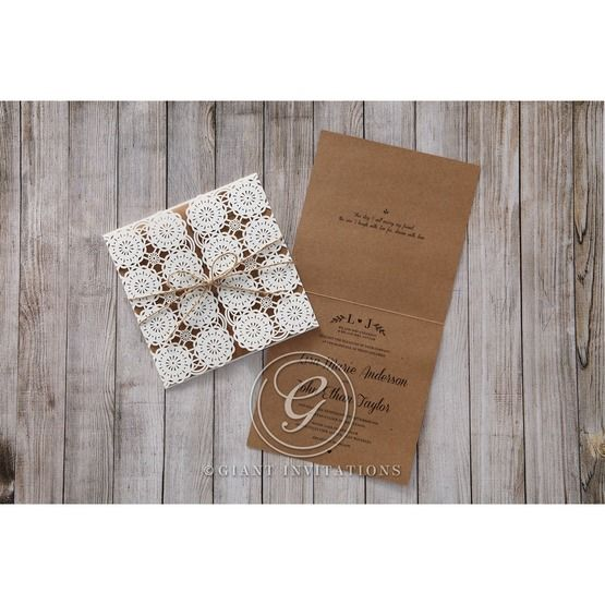 Brown Rustic - Wedding invitation - 48