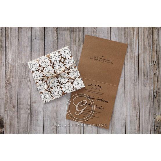 Brown Rustic - Wedding invitation - 48