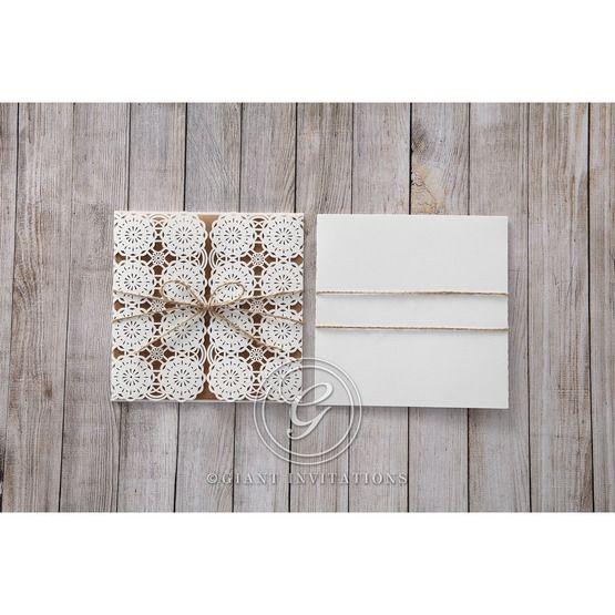 Brown Rustic - Wedding invitation - 53